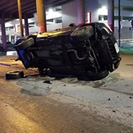 Witness Says Man Survived After Driving Off Downtown San Antonio Bridge
