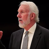 Gregg Popovich Speaks on MLK Jr.'s Legacy, Racism and Trump