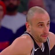 Manu Ginobili's Three-Year-Old Son Ranks Him As Sixth Favorite NBA Player