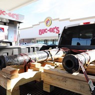 The Alamo Cannons Are So Texan They Stopped at Buc-ee's During a Road Trip