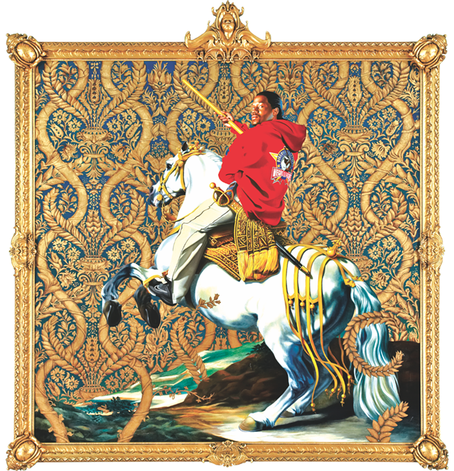 """Equestrian Portrait of the Count-Duke Olivares"" - KEHINDE WILEY"