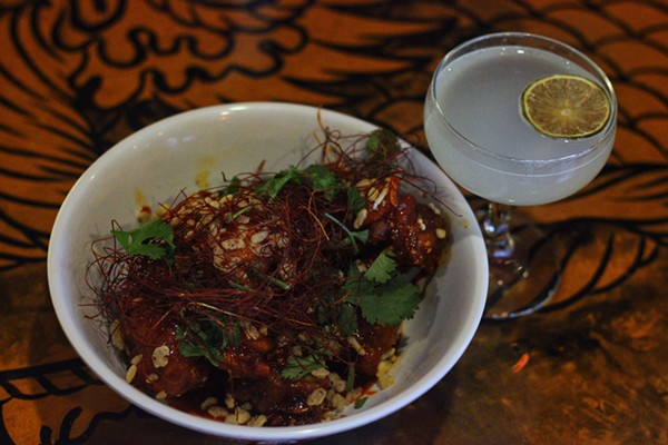 Korean Wings and a Hot Joy Daquiri -  INSTAGRAM/@DRINKING.IN.SA