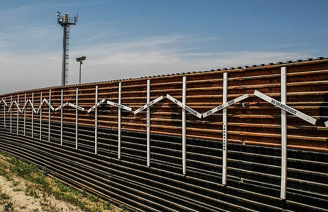 Congress recently approved construction on 33 more miles of border wall along the Lower Rio Grande. - WIKIPEDIA COMMONS