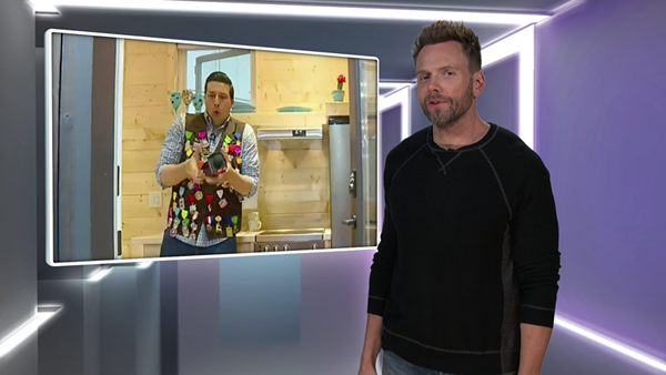 SCREENSHOT VIA NETFLIX / THE JOEL MCHALE SHOW