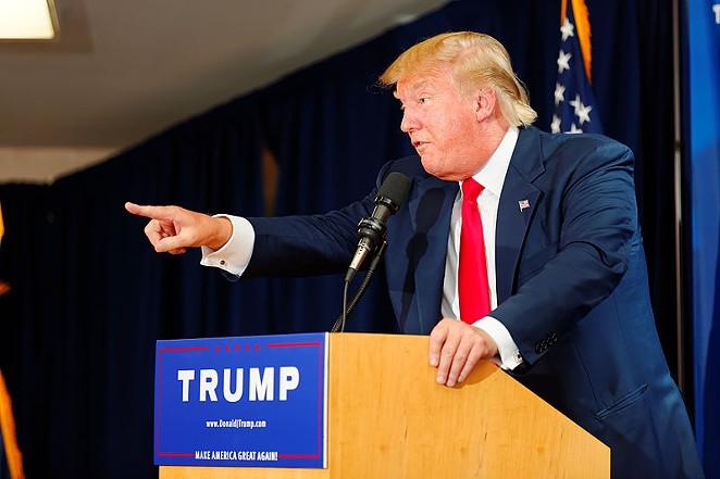 Donald Trump's inflammatory rhetoric doesn't necessarily sell so well in San Antonio. - WIKIPEDIA COMMONS