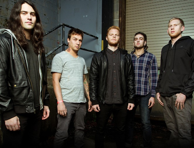 Born of Osiris is in the final stages of recording its fifth LP. - PHOTO VIA SUMERIAN RECORDS' WEBSITE