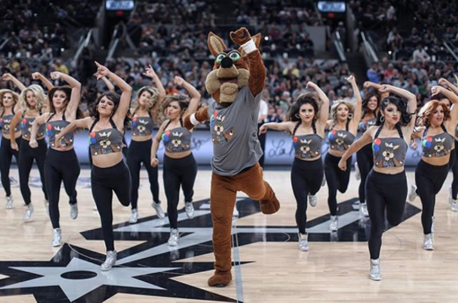 PHOTO VIA INSTAGRAM, SPURSCOYOTE