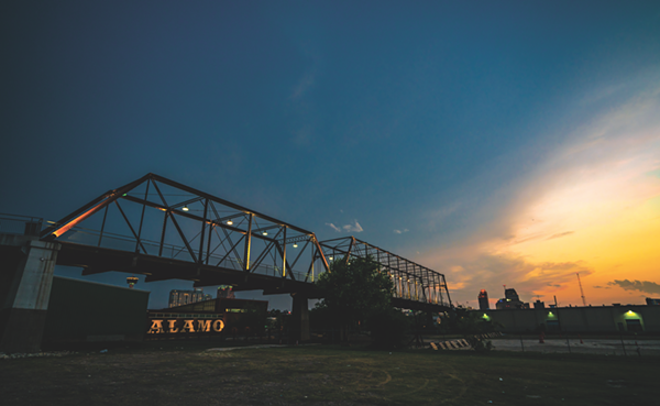 The Hays Street Bridge was once the primary connection between downtown and the predominantly African-American East Side. - SIGGI RAGNAR
