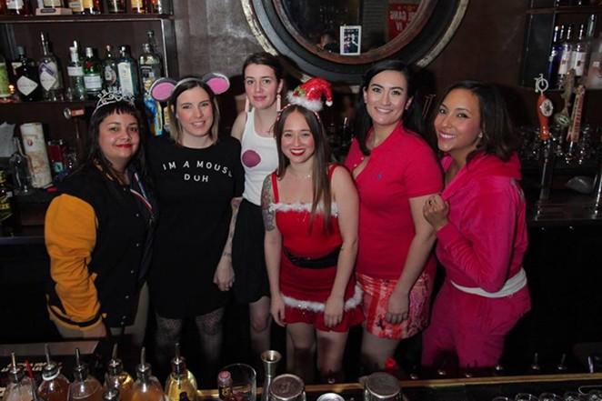 Girl Gang during their December pop-up. - COURTESY OF GIRL GANG