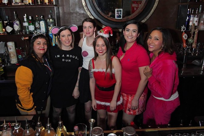 Girl Gang during their December pop-up. - COURTESY OF GIRL GANG