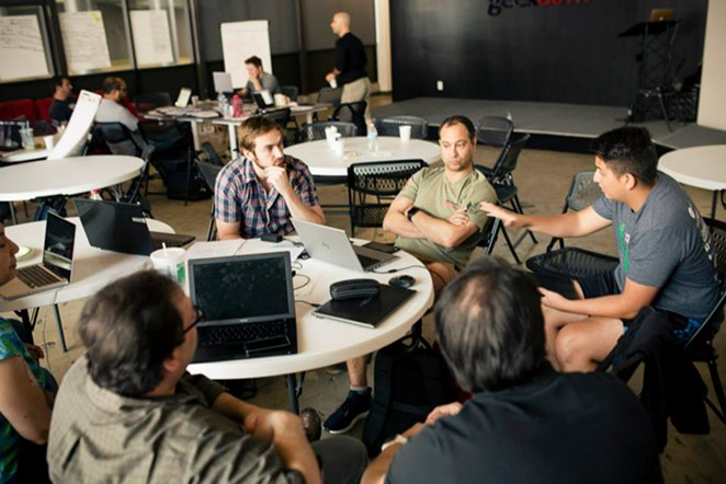 While San Antonio's tech industry still appears nascent in many ways, the city has emerged as a top spot for software engineers, according to one study. - VIA FACEBOOK/GEEKDOM SA