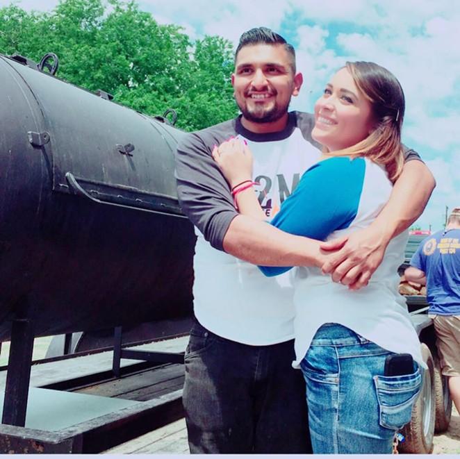 Ramos and wife Grecia Ramos - ESAUL RAMOS