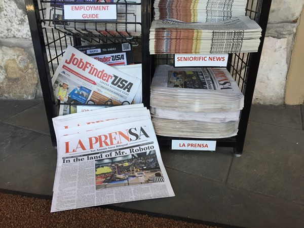 Bilingual newspaper La Prensa has a new lease on life as La Prensa Texas. - SANFORD NOWLIN