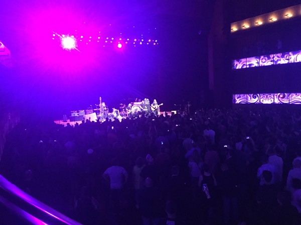 A view from the cheap seats. Violent Femmes tear up the Tobin Center. - MIKE KNOOP