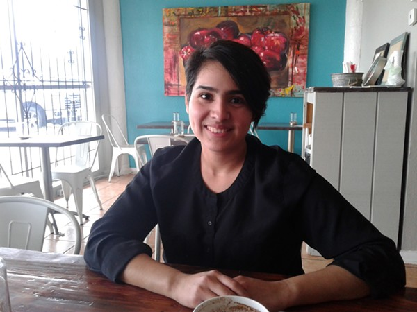 De la Cruz opened The Koffee Kup this January. - MARIA CRISTINA GARDNER
