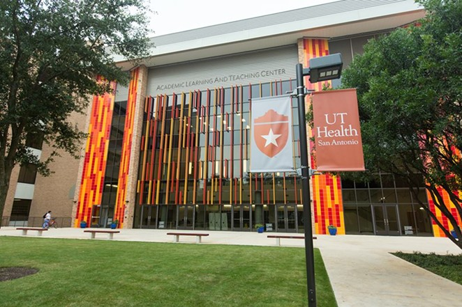 Four area institutions, including UT Health San Antonio, landed in the state's 10 best colleges for jobs. - VIA UT HEALTH SAN ANTONIO'S FACEBOOK PAGE
