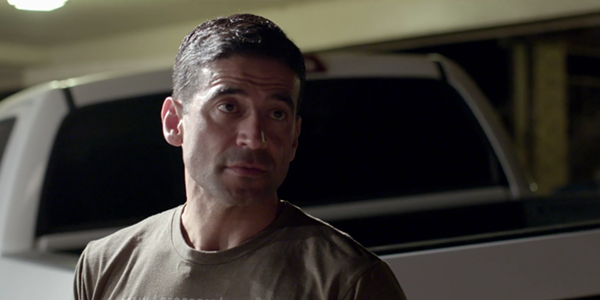 Nico LaHood as he appears in the documentary - NETFLIX
