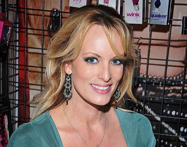 Porn star Stormy Daniels' new book describes the president's penis in graphic detail. - GLENN FRANCIS