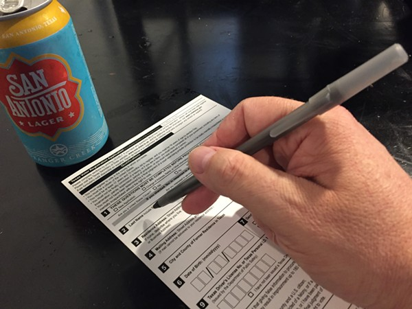 Drinking beer and registering to vote are not mutually exclusive pursuits. - SANFORD NOWLIN