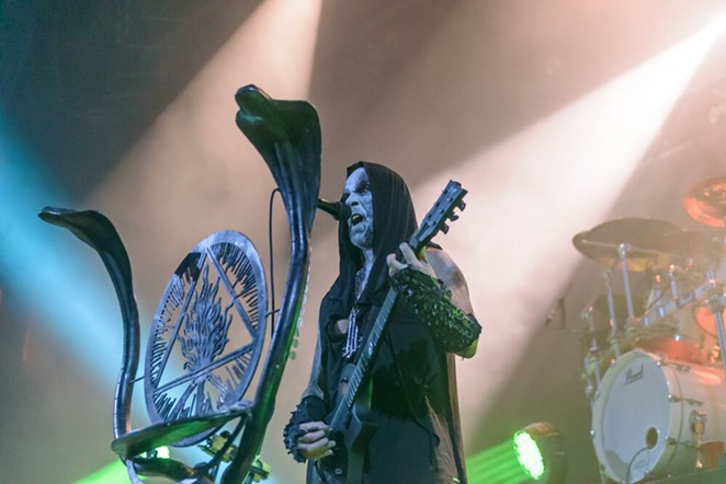 Behemoth's Nergal delivers his venom. - JAIME MONZON