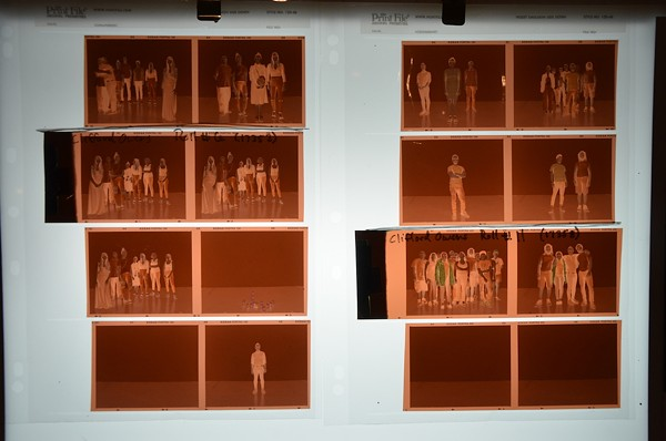 Frames from the San Antonio iteration of his series Photographs with an Audience. - PHOTO BY BRYAN RINDFUSS