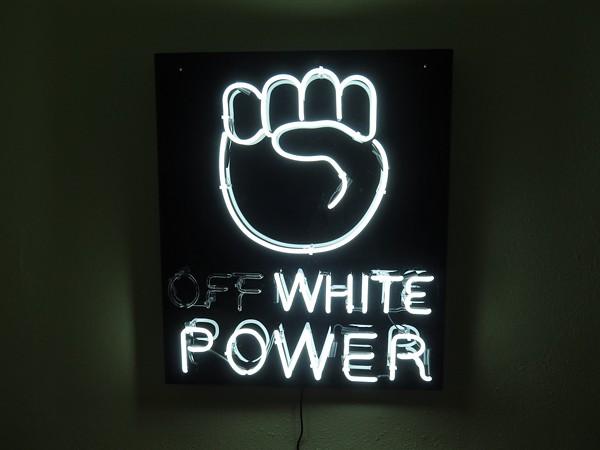 """Off-White Power"" - MARK ANTHONY MARTINEZ"
