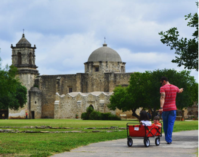 The San Antonio Missions are among the parks and natural sites funded by the federal Land and Water Conservation Fund. - PHOTO VIA INSTAGRAM / MISSIONSNPS