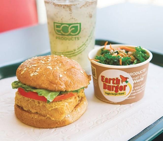 Earth Burger - DAN PAYTON