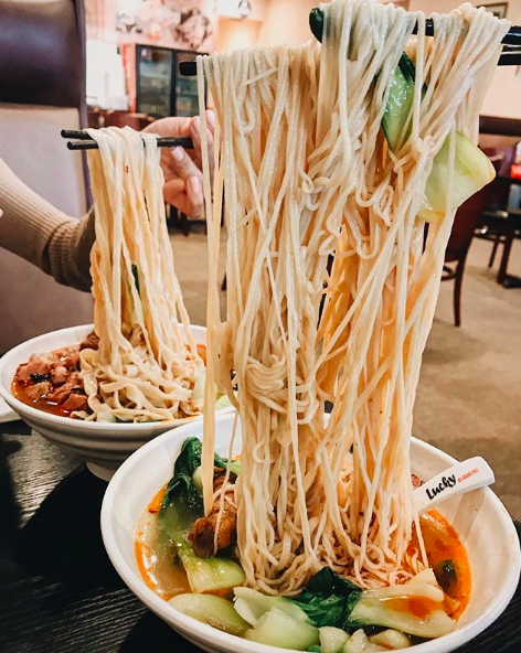 Lucky Noodle - PHOTO VIA INSTAGRAM / LOVEBRIECHEESE