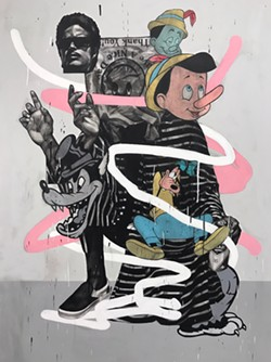 """ARTWORK BY JAMES """"SUPA"""" MEDRANO, ONE OF 30-PLUS S.A. ARTISTS FEATURED IN """"CTRL+A"""""""