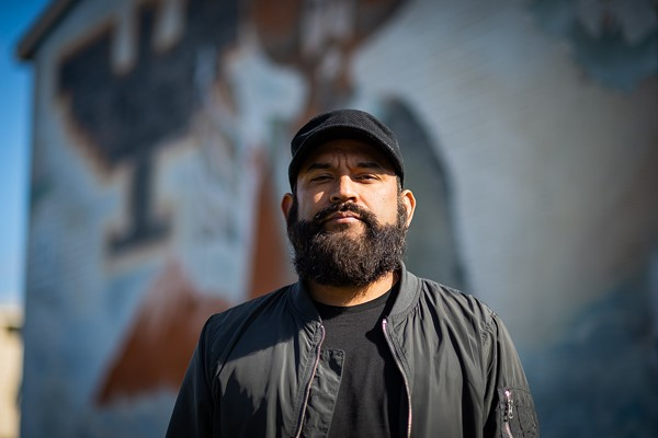 Marco Cervantes aka Mexican Stepgrandfather (Mexstep) is a rapper and director of UTSA's Mexican-American studies program. - FRANCISCO CORTES