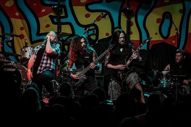 San Antonio Metal outfit Nahaya rocking out - FACEBOOK, NAHAYA