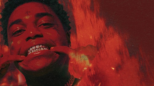 Kodak Black showing off his grill - COURTESY LIVE NATION