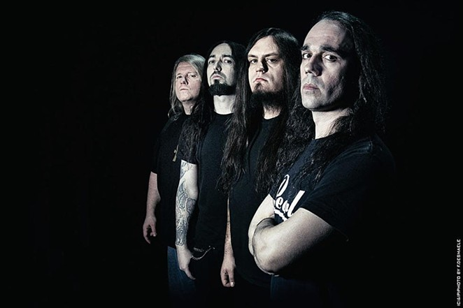 Death metal band Nile explores Egyptian themes in its music. - COURTESY PHOTO