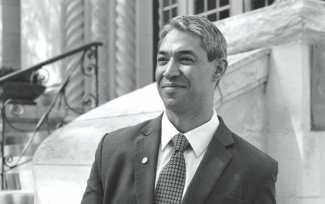 Early this week, Mayor Ron Nirenberg hinted that city council would likely delay a vote on the Climate Action and Adaptation Plan. - BRYAN RINDFUSS