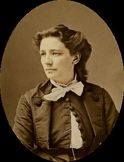 Victoria Woodhull circa 1870 - MATHEW BRADY