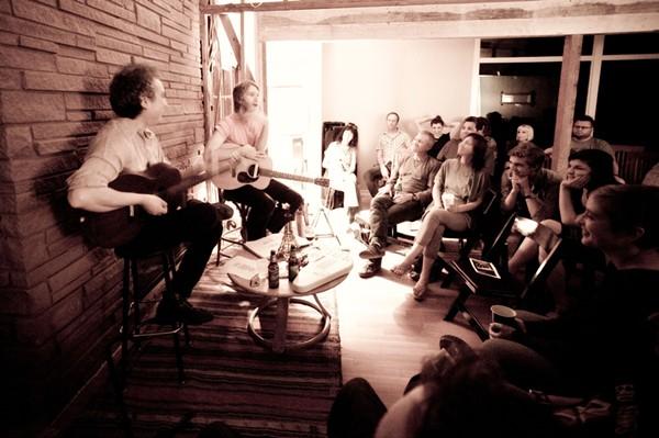 Demitasse playing the very first Wolverton Home Concert - RAMIN SAMANDARI