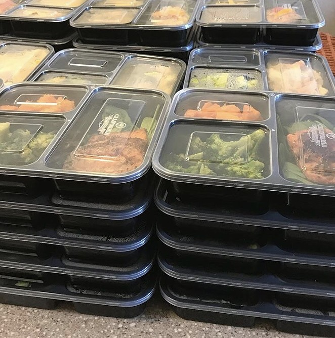 MEAL PREPS/MORGAN ALLEN
