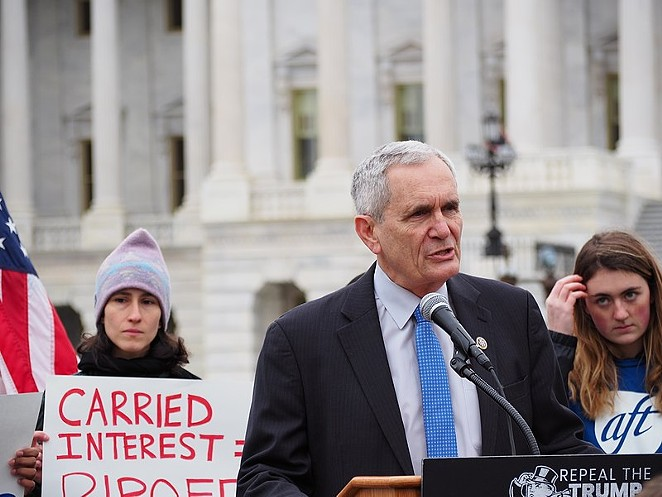 U.S. Rep. Lloyd Doggett speaks at a Washington press conference. - WIKIMEDIA COMMONS
