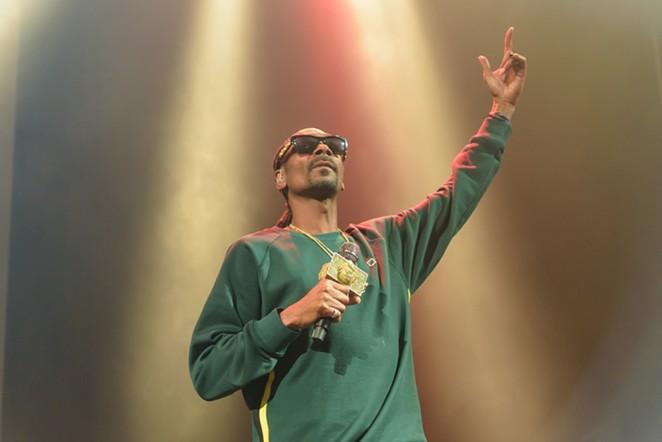 Snoop Dogg is no longer headlining the inaugural Essex Arts & Music Fest. - JAIME MONZON