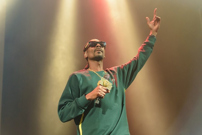 Snoop Dogg is no longer headlining the inaugural Essex Arts & Music Fest. - JAIME MONZON