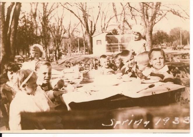 Local children enjoy Kiddie Park, spring 1933. - KIDDIEPARK.COM