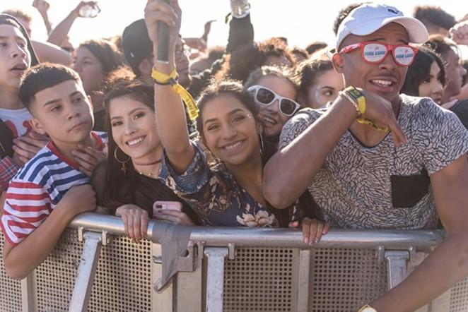 Festival attendees enjoy a past Mala Luna. - JAIME MONZON