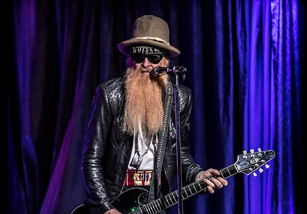 FACEBOOK / BILLY F. GIBBONS