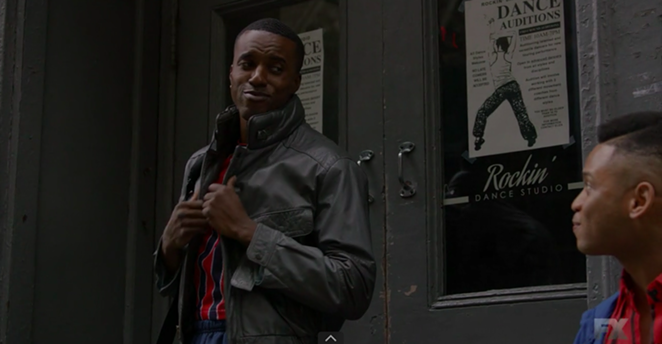 Karma and Ryan Jamaal Swain sharing a moment on screen - SCREEN GRAB, POSE EPISODE 5