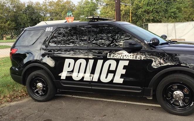 FACEBOOK / LEON VALLEY POLICE DEPARTMENT