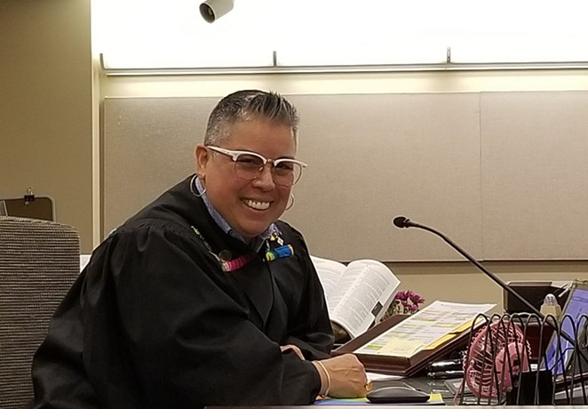 Bexar County Court Judge Rosie Speedlin Gonzalez - FACEBOOK / JUDGE ROSIE SPEEDLIN GONZALEZ
