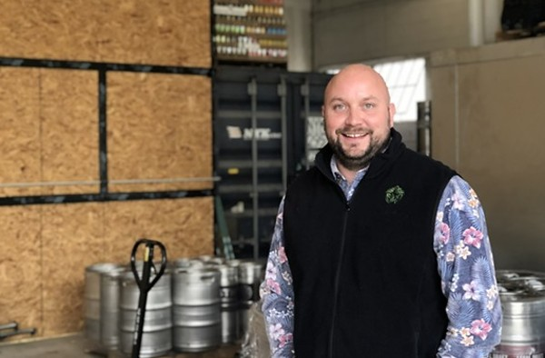 Tristan Maldonado, founder and CEO of Hops and Vines Distributing, will remain with the company. - JESS ELIZARRARAS