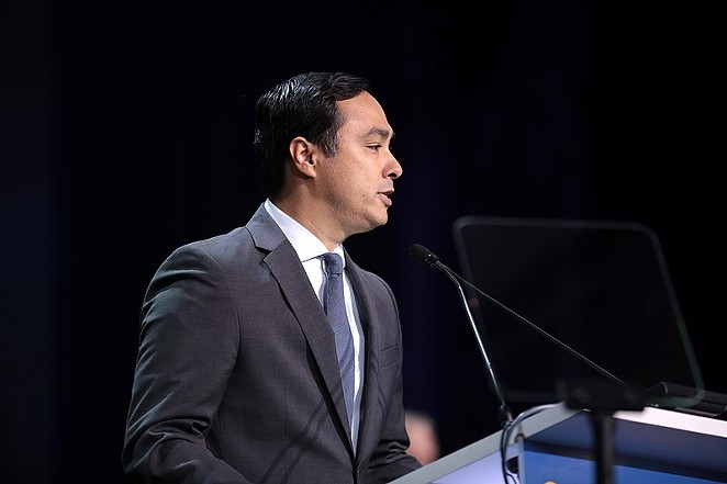 U.S. Congressman Joaquin Castro speaks at the 2019 California Democratic Party State Convention. - WIKIPEDIA COMMONS / GAGE SKIDMORE