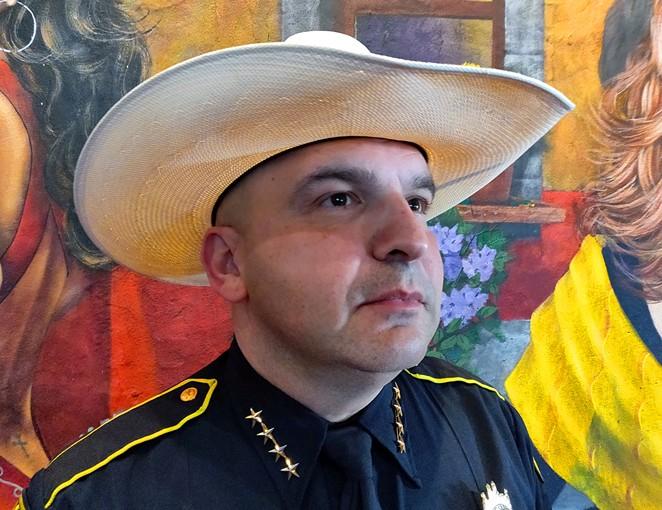 Bexar County Sheriff Javier Salazar - JADE ESTEBAN ESTRADA